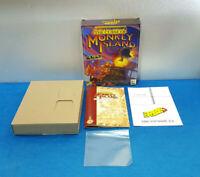 SOLO CAJA GRANDE JUEGO PC CD-ROM ESPAÑOL MANUAL - THE CURSE OF MONKEY ISLAND