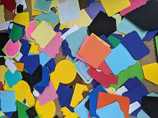 Die Cut Shapes Lot 100+ Cardstock Paper Scrapbook Card Making Assortment