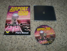 Airport 2000 Volume 2 (PC, 2000) Near Mint Game with pilot's manual