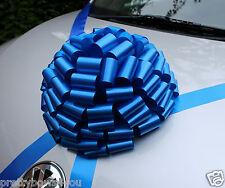 New CAR Giant Bow Large Wedding Birthday PRESENT Baby Boy Gift Bow ROYAL BLUE
