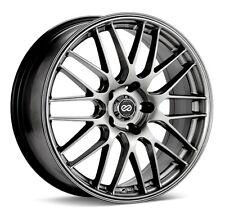 18x7.5 Enkei EKM3 5x114.3 +45 Hyper Silver Wheel (1)