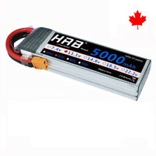 HRB 5000mAh 11.1V 3S Lipo Battery 50C XT60 with Traxxas For RC helicopter Drone