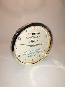 Very Rare CLOCK FUJIFILM Fujicolor Crystal Archive Paper,  Promotional CLOCK