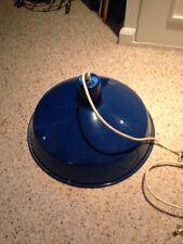 Industrial  Style Blue Hanging Lightweight Lamp 100 Watt Type A