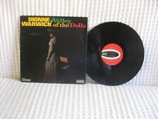 """Dionne Warwick """"Valley Of The Dolls"""" Scepter Records Stereo Sps-568 Vg/Vg+"""