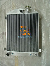Brand New1932 Ford Chopped engine 32 AT Full Alloy Aluminum Radiator 64mm 3 Core