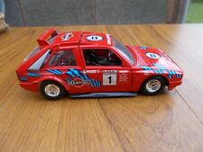 BURAGO-1/24 SCALE LANCIA DELTA INTERGRALLE RALLY CAR IN RED-UNBOXED/GREAT ITEM!!