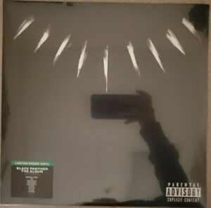 Black Panther - Songs From/Inspired By Vinyl LP NEW SEALED Green Vinyl