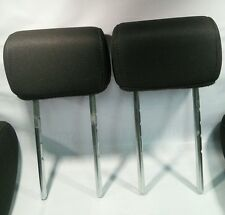 2004-2008 FORD F150 PICK UP TRUCK- HEAD REST PAIR BACK ROW SIDE- BLACK CLOTH