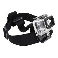 Testa Cinghia supporto Cintura Fascia per capelli per GoPro Go Pro HD HERO 2/3
