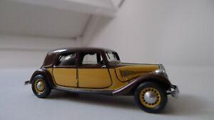 MA Collection 1:43 - Roland Devos Citroen 1937 nr. 15 MINT Modele resin RARE