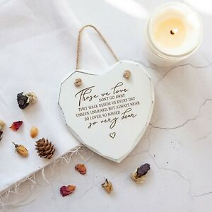 Memorial Plaque, Sympathy Gift, Those we love don't go away quote, Remembrance