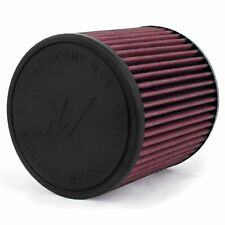 Mishimoto Performance Air Filter 4in Inlet, 7in Filter Length - Red - MAF-4007