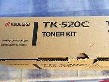 Original Kyocera TK 520 Toner, cyan