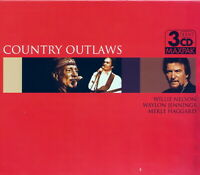 Country Outlaws - Nelson/Jennings/Haggard    *** BRAND NEW 3CD BOX SET ***