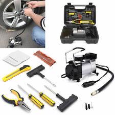 Portátil 12 V Coche Eléctrico 4x4 Auto Bomba De Aire Compresor Kit de reparación de pinchazos para neumáticos