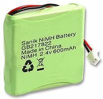 BATTERY NI-MH 2.4V 600MAH Batteries Rechargeable - CM84764