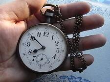 Goliath XXLTASCHENUHR* POCKET WATCH AUTOMOBILE REGULATEUR DEPOSE Relógio De