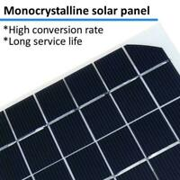 1.5W 12V Mini Power Solar Panel Small Cell Phone Module DIY Wire Charger W// W2Z3