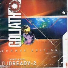 DJ Dready-2 - Goliath - Summer Edition - CD MIXED - NEU OVP - TRANCE HARD TRANCE