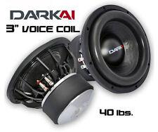 "Dark Audio Industries DKI-12 12"" Subwoofer D2 - HD 3"" Voice Coil - 225oz Magnet"