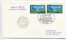 FFC 1990 Lufthansa Volo Speciale Junkers JU 52 D-AQUI Jubilaums Sonderflug