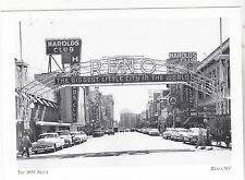 """The 1935 Arch"" (Biggest Little City In The World)  /Reno, NV/ ('Postcard'#88)"