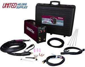 Thermal Arc 201TS 200amp(110/230V) Dual voltage Inverter Tig welding package