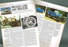 Old CHENARD & WALCKER History Article / Photo / Picture