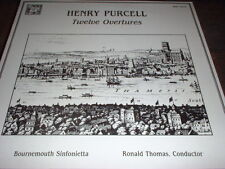HENRY PURCELL ~ TWELVE ORVERTURES ~ BOURNEMOUTH ~ THOMAS, MHS #3082, EUC