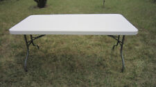 CLEARANCE -154cm Portable Rectangular Trestle Table $59