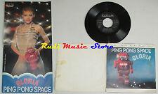 LP 45 7'' GLORIA Ping pong space GATEFOLD 1978 italy DURIUM LD AL 8018 cd mc dvd