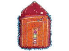 antike afghan Nomaden gestickte Geldbeutel beutel bag Portemonnaie Geldbörse Nr3