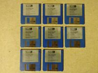 SCO Xenix for the Apple Lisa 2, Installation Disk Set, Complete and Verified