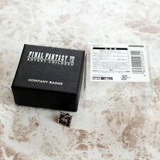 Final Fantasy Vii Advent Children Shinra Mark Sterling Badge Pins