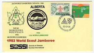 Canada AB Alberta - Kananaskis 1983 Scout Jamboree - Cachet FDC Cover -