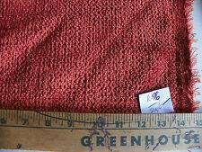 Orange Chenille Fabric / Upholstery Fabric 1 Yard R96