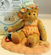 Very Rare Cherished Teddies 104681 Michaela Pail Starfish Sand Mint Nib 9