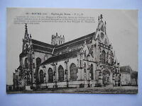 "CPA ""Bourg - Eglise de Brou"""