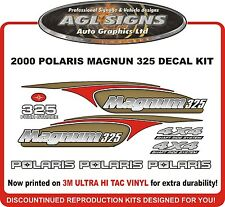 2000 POLARIS MAGNUM 325 4X4  DECAL KIT  REPRODUCTIONS  425 also