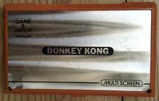 CONSOLE NINTENDO GAME & WATCH MULTI SCREEN DONKEY KONG DK-52 FONCTIONNE WORKS