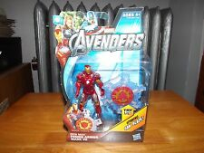 "THE AVENGERS MOVIE SERIES, FUSION ARMOR MARK VII IRON MAN 4"" FIG, NIP, 2011"