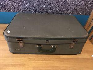 Crown vintage Luggage Green