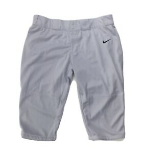 Nike Stock All Out Softball Game 3/4 Pant Women's XXL Gray 553208