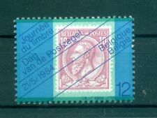Stamp on Stamp-Belgium 1984 Stamp Day