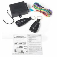 Universal Car Door Lock Central Remote Control Locking Keyless Entry System Set