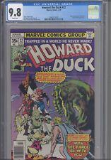 Howard the Duck #22 CGC 9.8 1978 Marvel Comics Man-Thing App