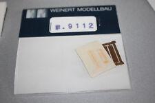 Weinert 9112 Speisewagenschilder Spur H0 OVP