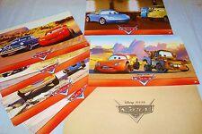 CARS   ! w disney jeu  photos cinema lobby cards animation pixar flash mac queen
