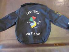 Vintage Kids Vietnam War Souvenir Jacket Tay-Ninh 1966-1967 Never Worn